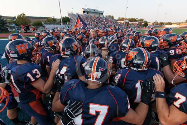 Wheaton College Football vs Benedictine, August 30, 2012