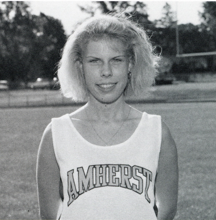 . Amy (McKinley) Agrella ran cross country and track. She won individual and team girls cross country state championships in 1991, and was the 1600-meter state champion in 1993.  She was the state runner up in cross country in 1992 and in the 3200-meter run in track in 1993. She finished fourth at the state cross country meet in 1990, leading her team to a runner-up finish. She was a two-time Southwestern Conference Cross Country MVP and the Southwestern Conference Girls Track & Field MVP in 1993.  She currently holds the school record in the 1600-meter (4:54.23), 3200-meter (10:42.5), and in cross country. Agrella was a USA Today High School All-American in the 1600-meter and 3200-meter runs as one of the top ten fastest girls in 1993 in the United States. She was All-Ohio eight times. Agrella ran for the University of Arkansas where she earned All-American honors in 1995 in the 10,000-meter run.  She was a member of the NCAA Division I Cross Country Team runners-up in 1993.