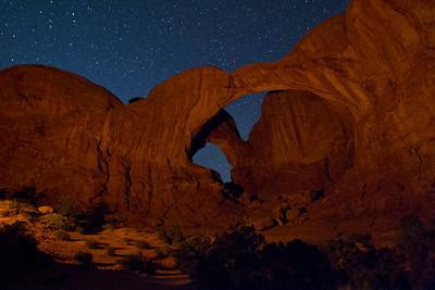 Utah and Arizona