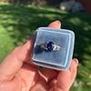 2.08ctw Sapphire and Diamond Ring, GIA No-Heat 11