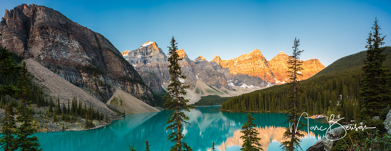 Moraine Lake Panoramic
