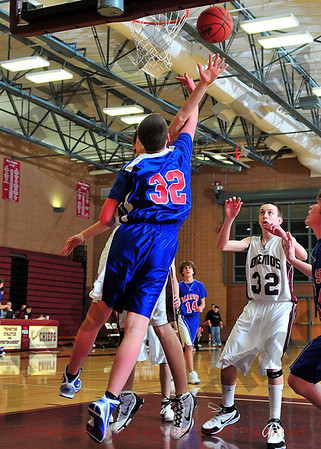 Boys Freshman Basketball - Mason at Okemos - Jan 14