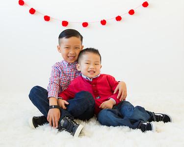 Young Children Valentine's Mini-Session