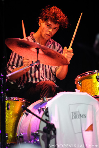 Connor Hanwick of The Drums performs on September 19, 2010 at State Theatre in St. Petersburg, Florida.