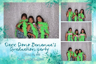Daxx's Graduation (LED Open Air Photo Booth)