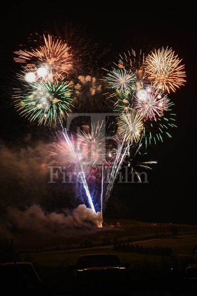 Nuremberg Celebration Fireworks - September 2017