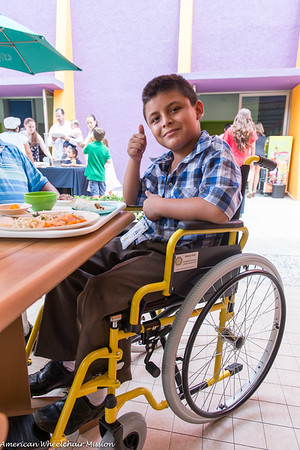 2015 Rotary Club Acapulco Mexico Wheelchair Distribution
