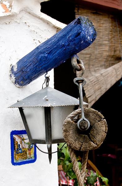 Wed 3/09 in La Mancha: Shop entrance