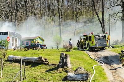 04-15-16 West Lafayette FD House Fire