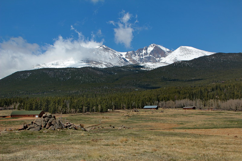 Long's Peak, near Estes Park, CO