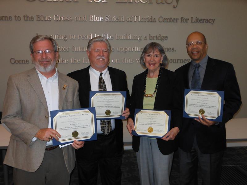 Rob Overly, Ron Buckley, Delores Barr Weaver, Jim Sutton.JPG