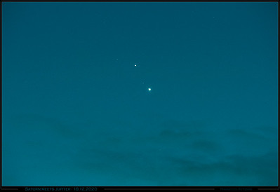 Saturn Jupiter Conjunction 21.12.2020