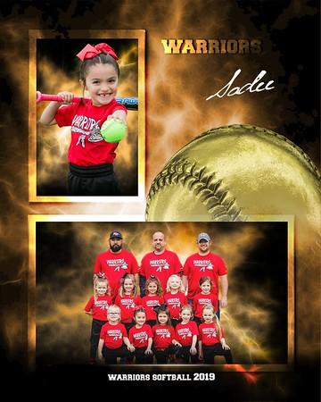 Warriors Softball 2019