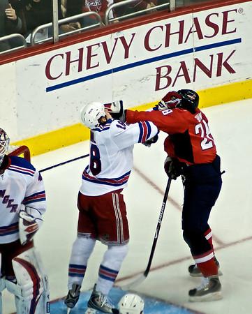 Caps vs Rangers (2/1) (January 3, 2009)