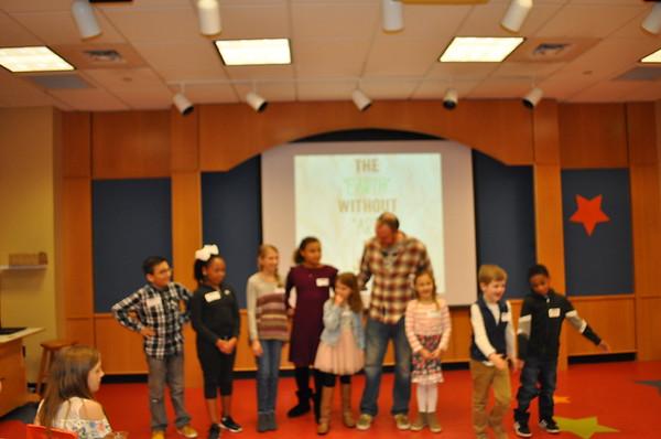 Rocky Ridge Elementary Artist Reception - February 2020