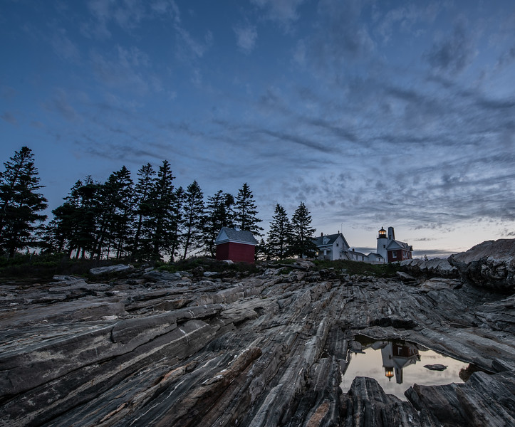 Pemaquid Blue Hour