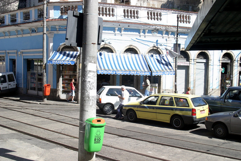 Trolley, takes you some of the distance, Corcovado Panorama and getting there. 2004