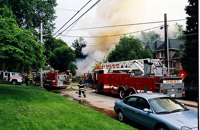 Teaneck Fatal House Explosion 2nd alarm 4th equivalent Hastings St 7-17-08