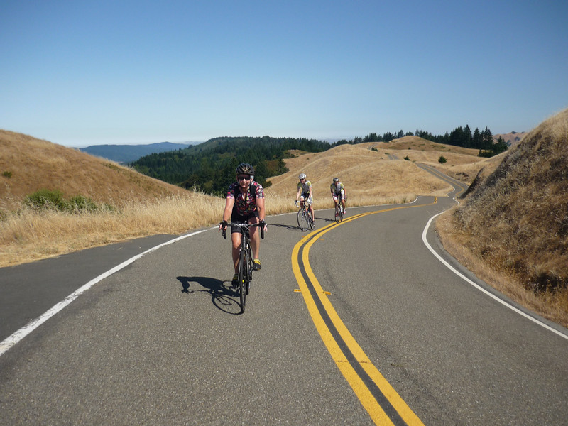 On Ridgecrest Road (aka Seven Sisters), Mt Tam