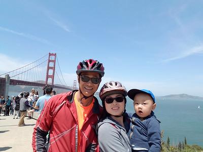 Biking Across Golden Gate