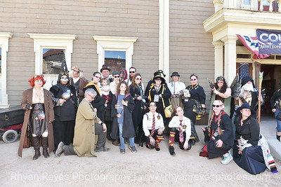 Hogwarts House Pride Group Photoshoot