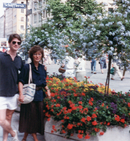 Steve and Edda in Munich