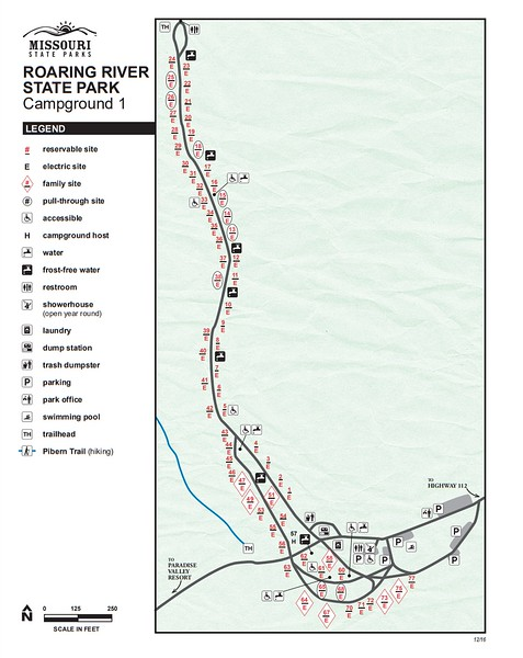 Roaring River State Park (Campground #1)