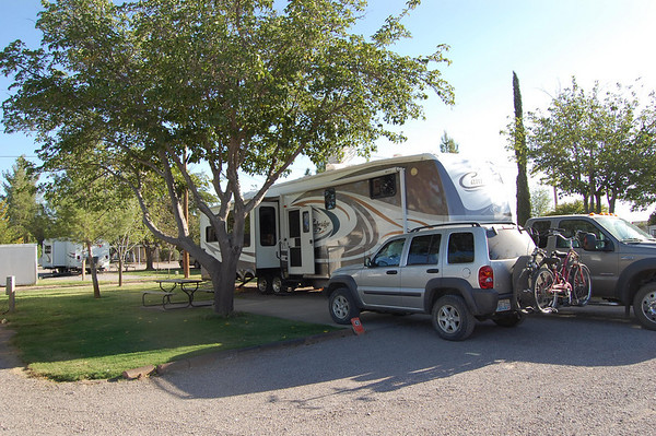 Journal Site 131: Sunny Acres RV Park, Las Cruces, NM - Oct 1, 2009