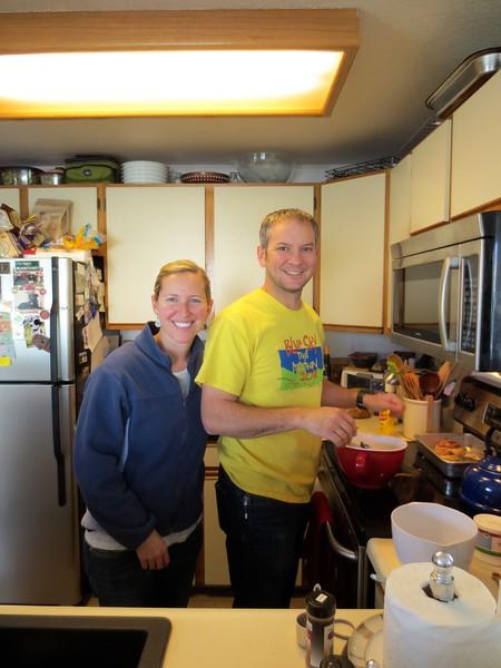 Lottsa time in the kitchen this week!