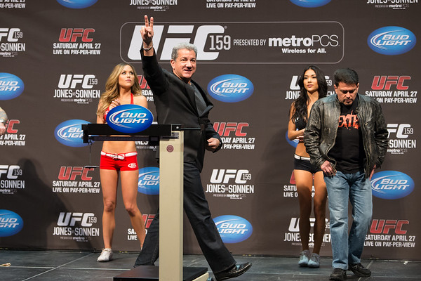 UFC 159 Weigh-Ins