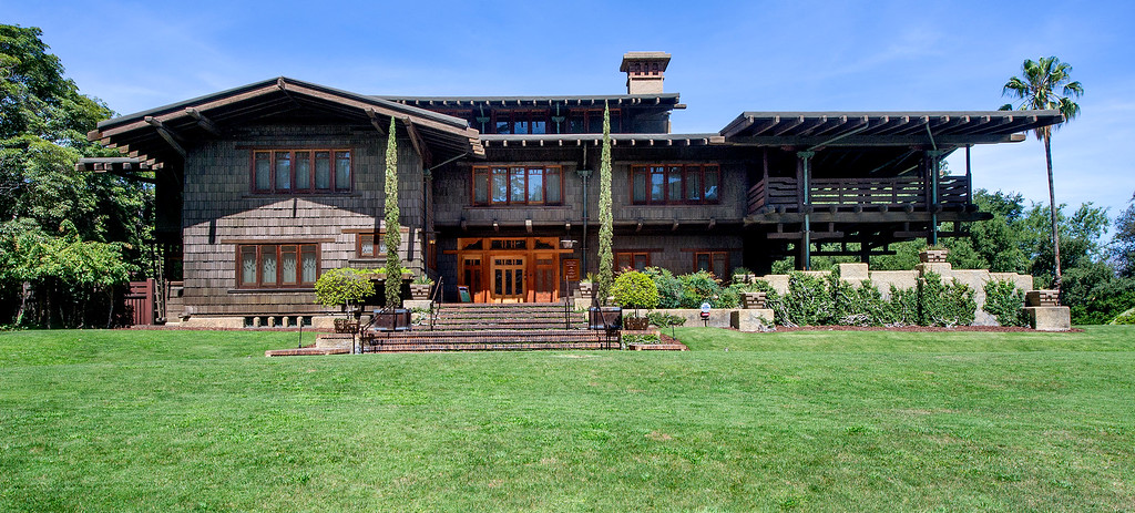 . The Gamble House Tuesday, July 16, 2013. Fans of the BBC�s �Upstairs/Downstairs� and �Downtown Abbey� can get a rare, behind-the-scenes look at the real deal when the Gamble House, located at  4 Westmoreland Place in Pasadena. The Gamble House opens up its servants quarters for three weeks only, beginning Aug. 1. The tour is based on new findings about the Gamble family and its servants.(SGVN/Photo by Walt Mancini)