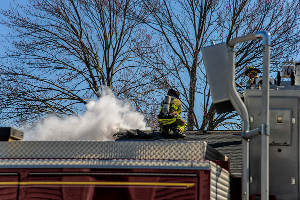 West Haven 86 Tetlow St. roof fire
