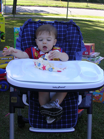 Tyler's First Birthday Party