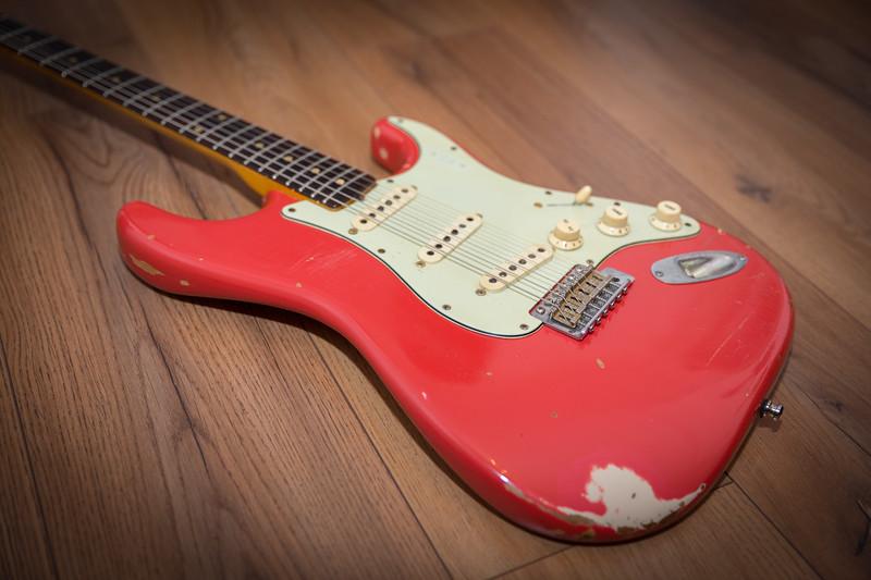 1962 - Fender - Stratocaster - Fiesta Red