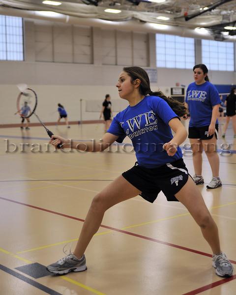 Lincoln-Way East Freshmen Badminton 2013