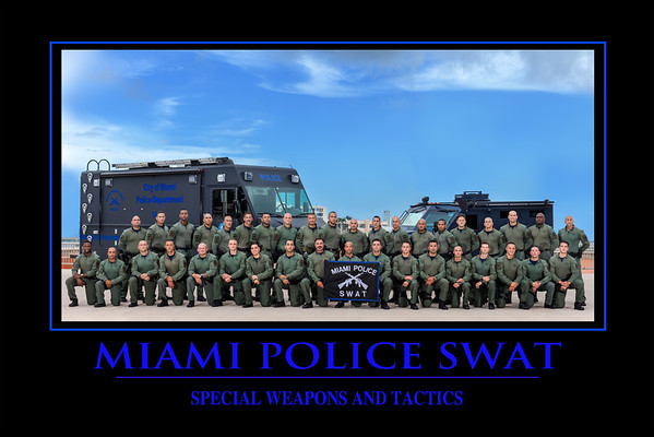 MPD SWAT Team photos