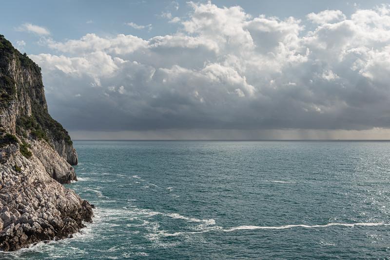 Sea - Portovenere, La Spezia, Italy - October 25, 2020