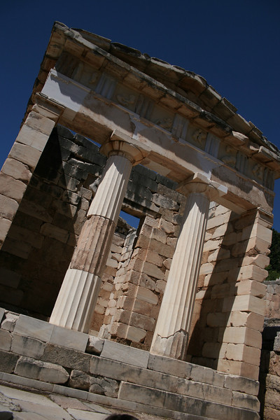 Delphi, Greece: The Temple of Apollo