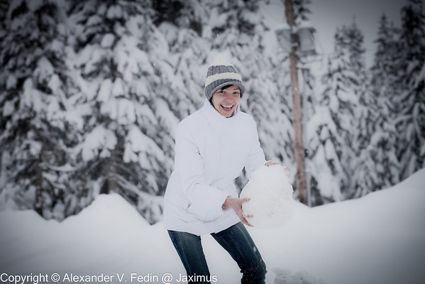 Portfolio - Winter Portraits
