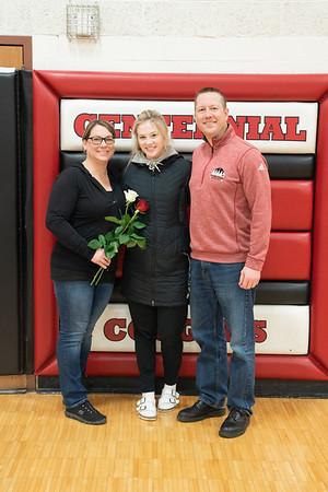 2020-01-24 - Centennial Girls Basketball Parents Night