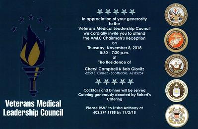 2018 VMLC Chairman's Reception