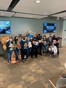 Browncroft Books and Bears Donation 5/11/2021