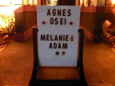 Melanie and Adam's Reception