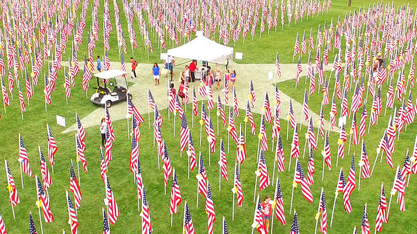 The Field of Honor in West Dundee - 2016