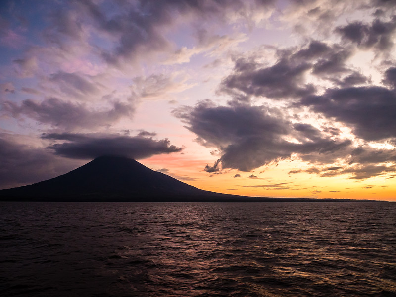 Bob Margey and Ometepe