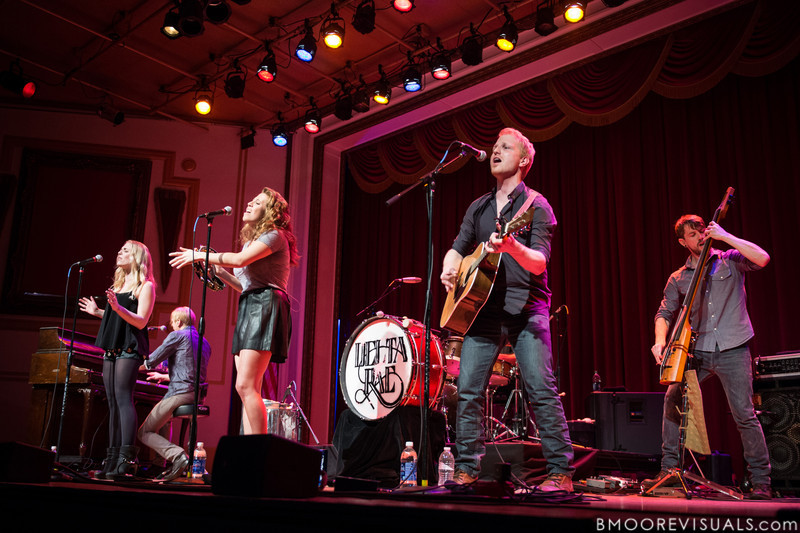 Delta Rae perform on January 13, 2012 at Capitol Theatre in Clearwater, Florida
