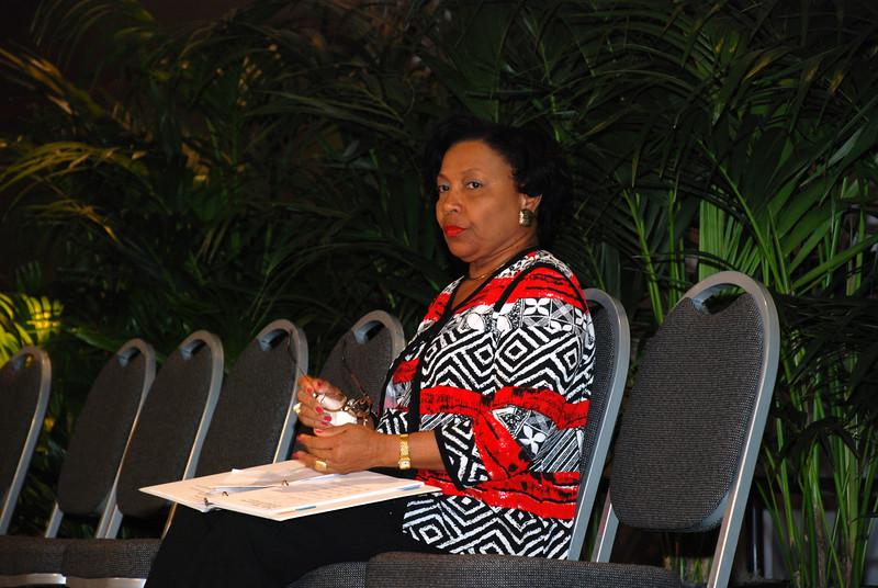 Closing prayer: Phyllis Wallace, ELCA Church Councilmember, St. Thomas, Virgin Islands.