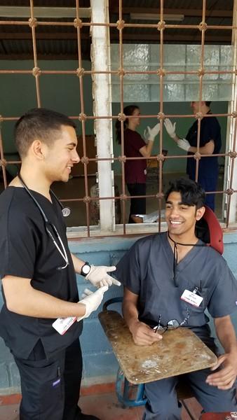 USciences Medical Brigade - San Francisco, Honduras - May 2018