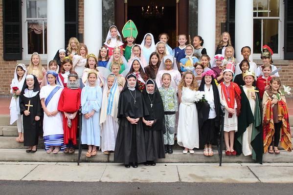 All Saints Chapel 4th Grade 2015