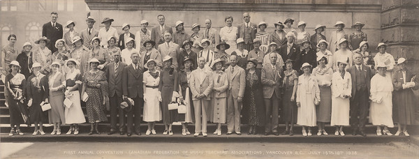1st CFMTA Conference 1936